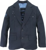 717 SEVENONESEVEN Boy Blazer BRYAN Night Shadow Lining Moondust 004