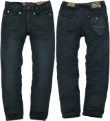 BLUE REBEL Jeans Boy Vulcano charcaol tapered slim fit